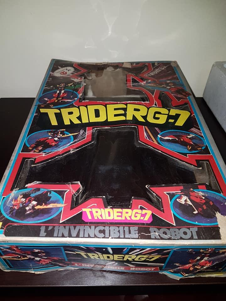 Robot Trider G7 Ceppiratti anni 80 4 trasformazioni no Goldrake 80669510