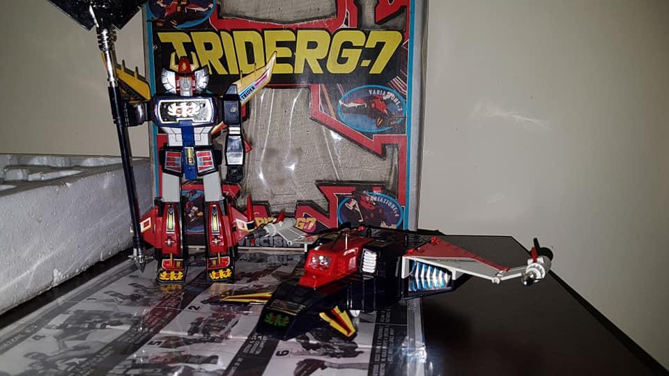 Robot Trider G7 Ceppiratti anni 80 4 trasformazioni no Goldrake 80679810