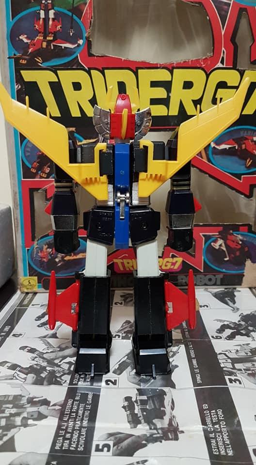 Robot Trider G7 Ceppiratti anni 80 4 trasformazioni no Goldrake 80734010