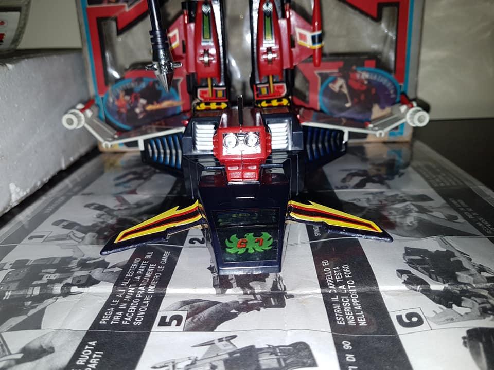 Robot Trider G7 Ceppiratti anni 80 4 trasformazioni no Goldrake 80762910