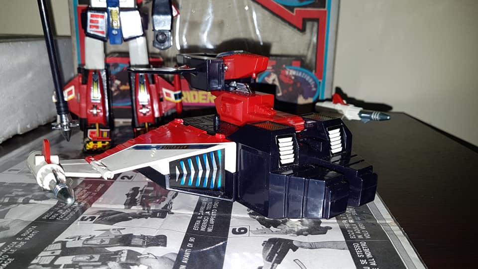 Robot Trider G7 Ceppiratti anni 80 4 trasformazioni no Goldrake 80802511