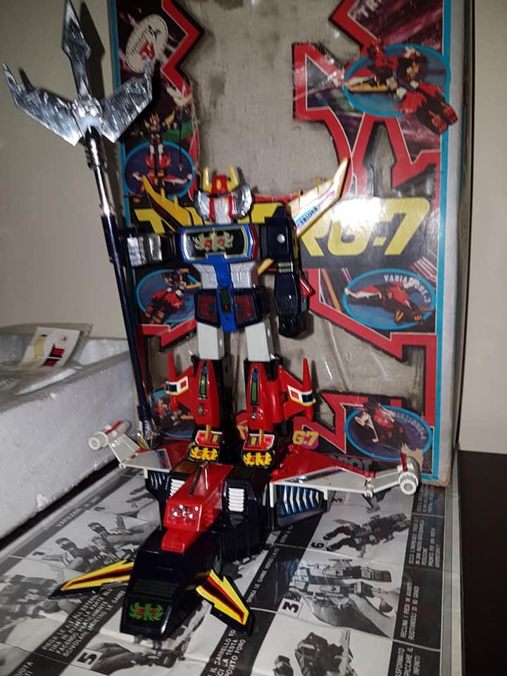 Robot Trider G7 Ceppiratti anni 80 4 trasformazioni no Goldrake 80890411