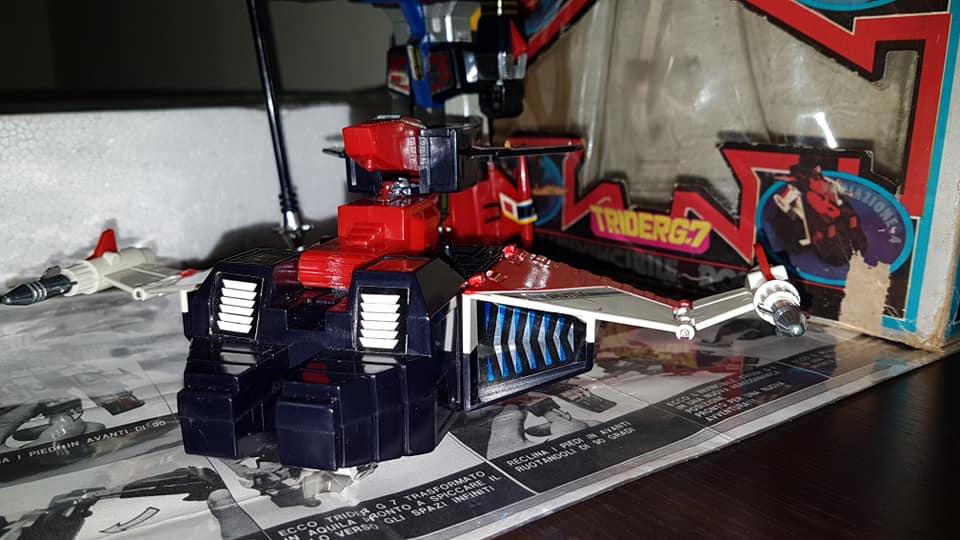 Robot Trider G7 Ceppiratti anni 80 4 trasformazioni no Goldrake 80992110