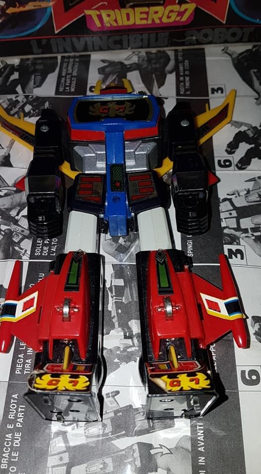 Robot Trider G7 Ceppiratti anni 80 4 trasformazioni no Goldrake 81040010
