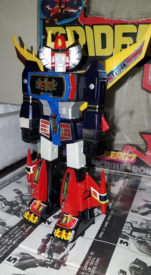 Robot Trider G7 Ceppiratti anni 80 4 trasformazioni no Goldrake 81187410