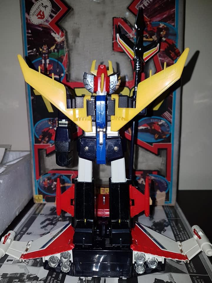 Robot Trider G7 Ceppiratti anni 80 4 trasformazioni no Goldrake 81304810