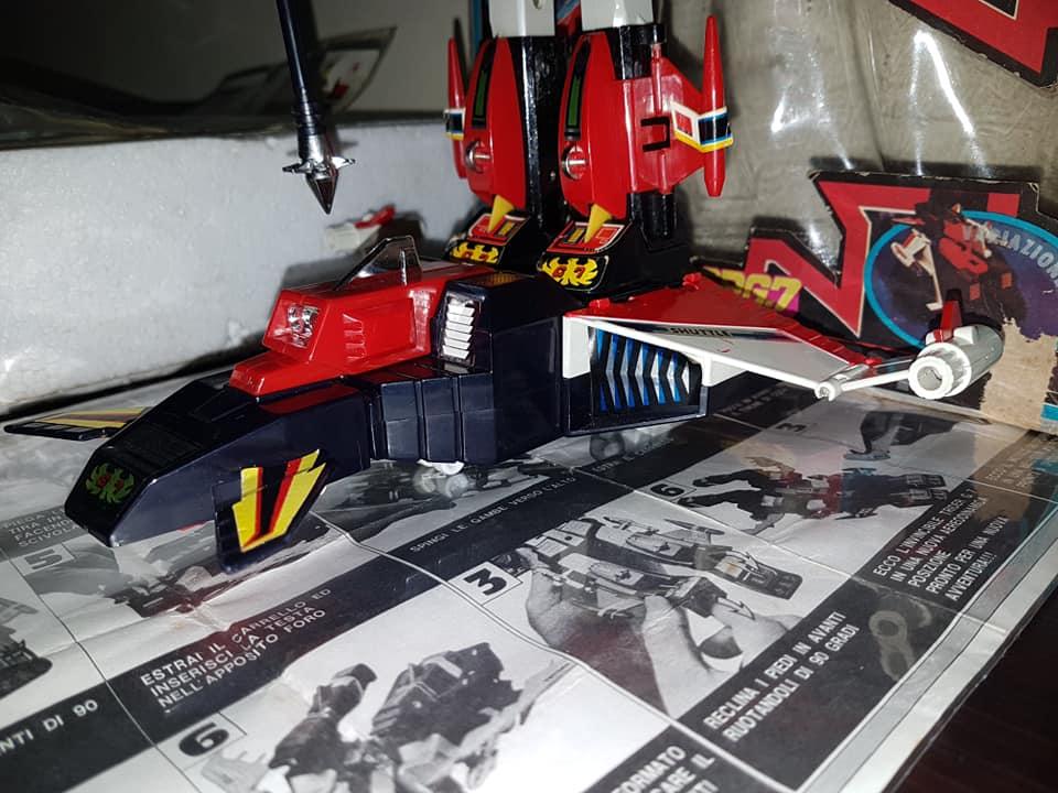 Robot Trider G7 Ceppiratti anni 80 4 trasformazioni no Goldrake 81595810