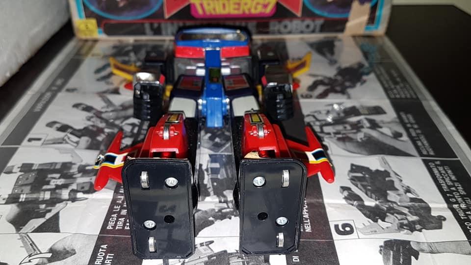 Robot Trider G7 Ceppiratti anni 80 4 trasformazioni no Goldrake 81722910