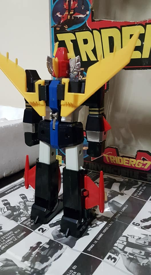 Robot Trider G7 Ceppiratti anni 80 4 trasformazioni no Goldrake 82095510