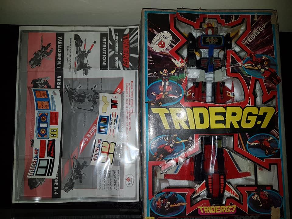 Robot Trider G7 Ceppiratti anni 80 4 trasformazioni no Goldrake 82297511