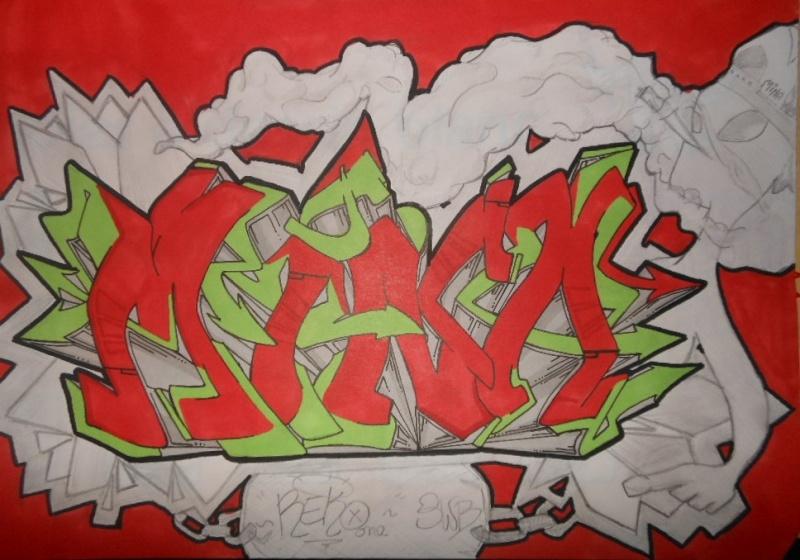 Graffitis Reko one. Dscn4110