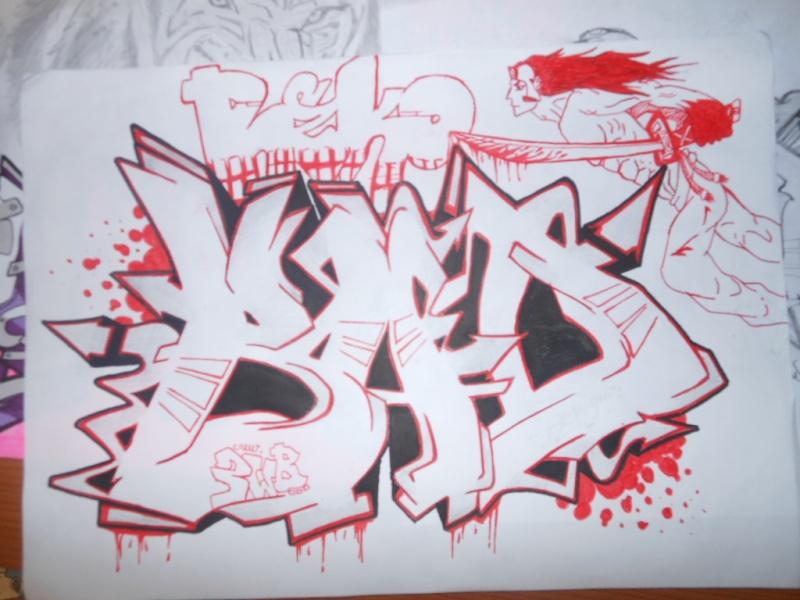 Graffitis Reko one. Dscn4210