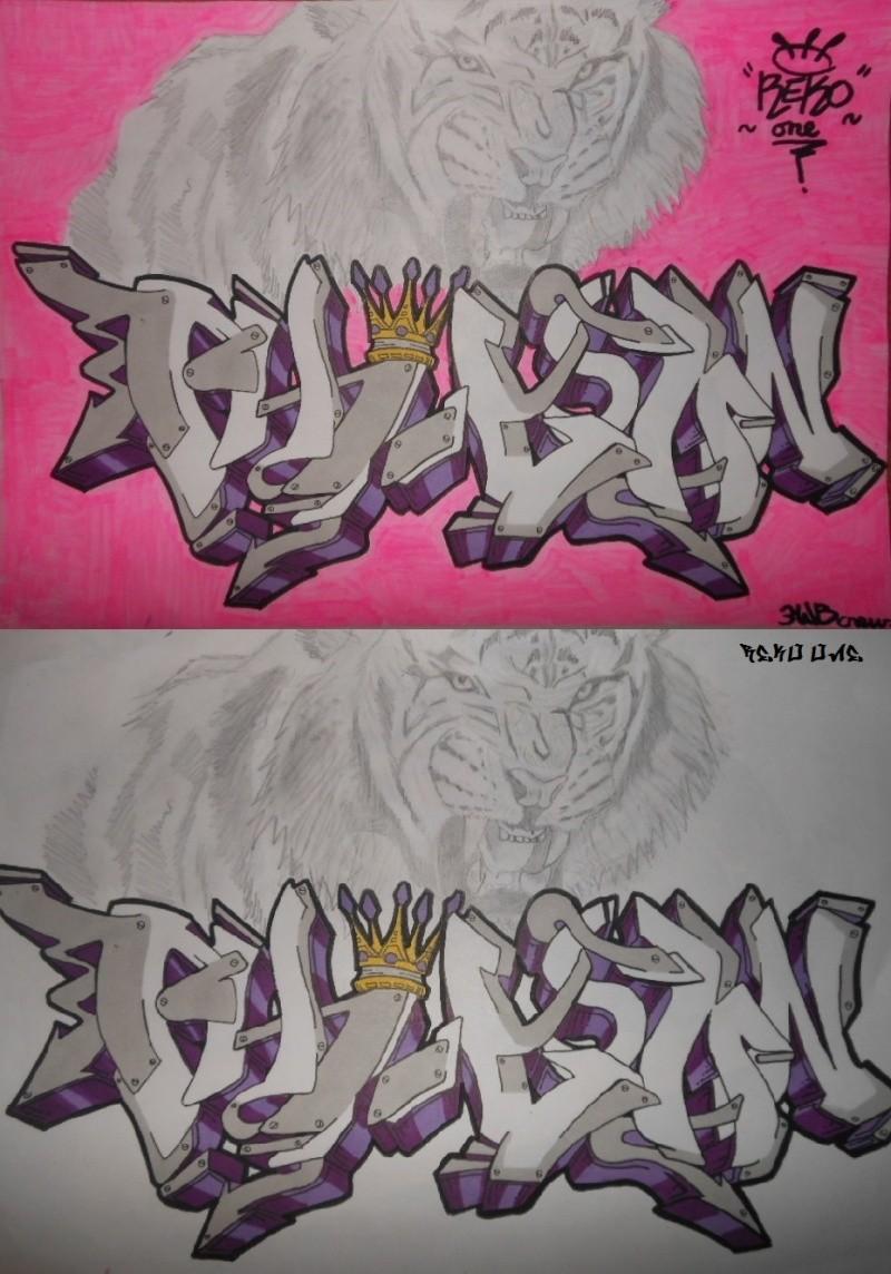 Graffitis Reko one. Rose__10