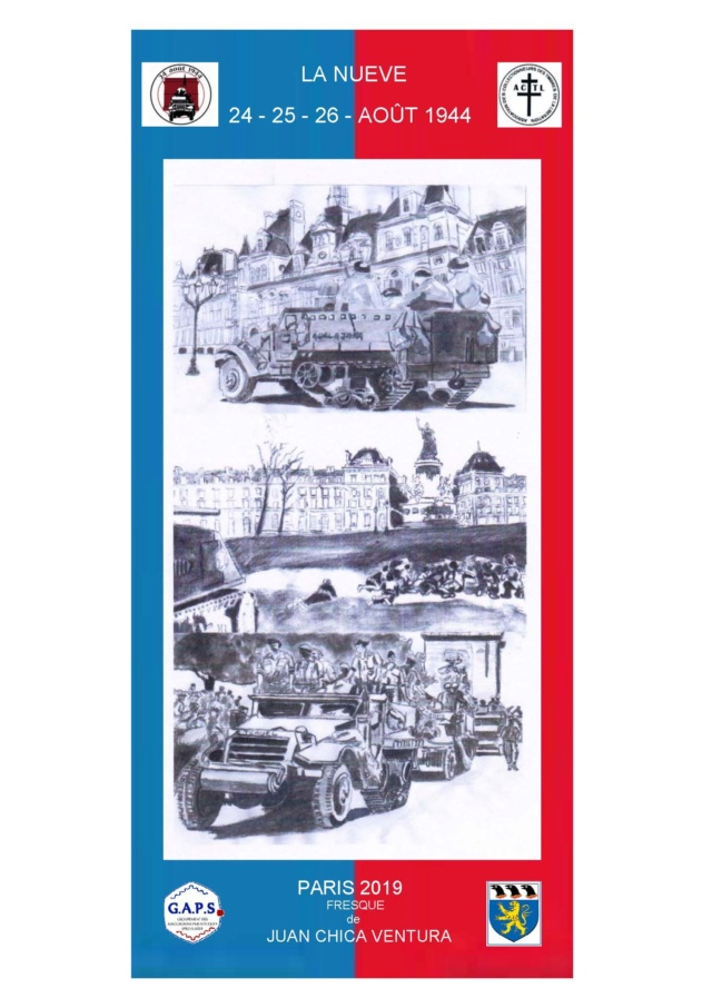 75ème ANNIVERSAIRE DE LA LIBERATION DE PARIS. Collec10