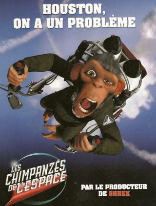 Les Chimpanzés de l'espace le 22 octobre au cinéma Chimpa10