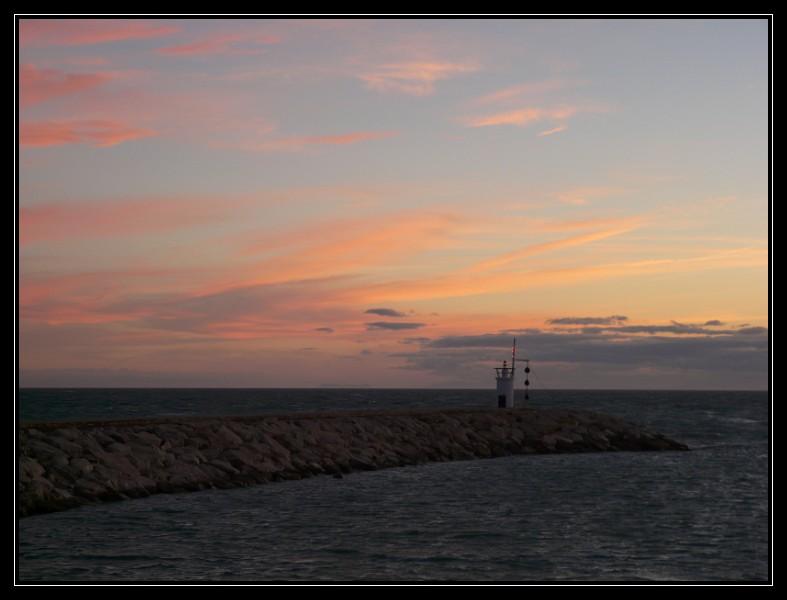 Coucher de soleil sur la Costa Del Sol P1000814