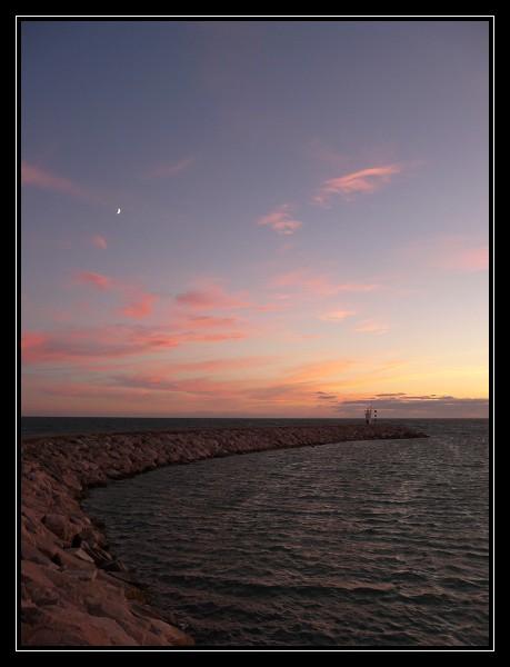 Coucher de soleil sur la Costa Del Sol P1000815