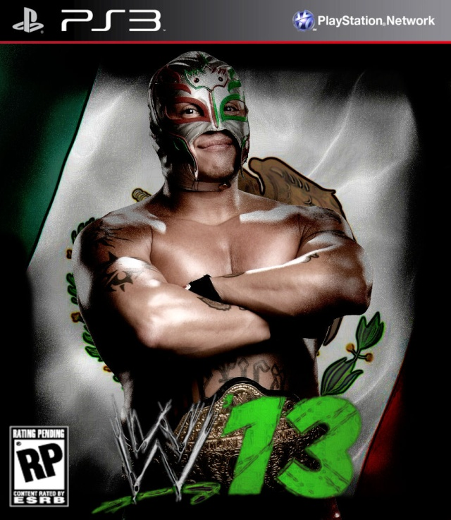 Vos jaquettes WWE'13 Rey_my10