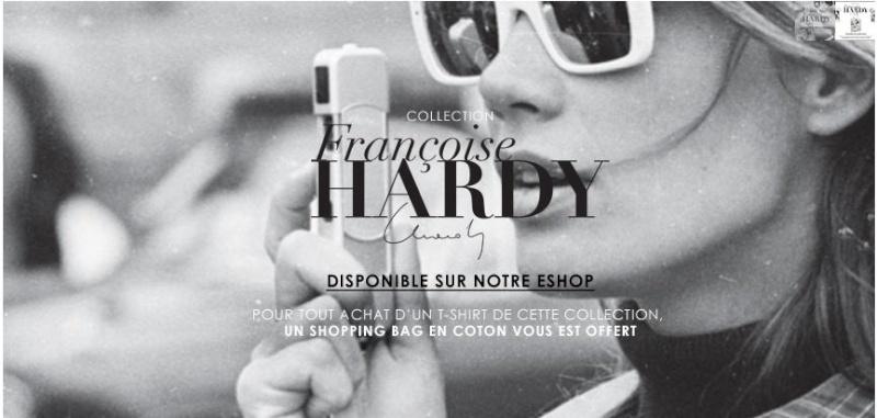 Quatre T shirts et un cabas (!) pour Françoise Hardy ... Maje010