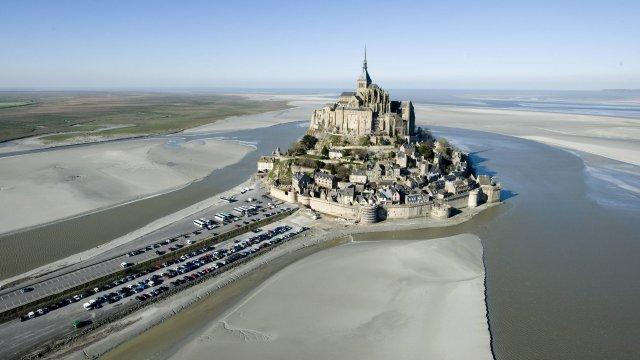 Le Mont-Saint-Michel est redevenu une île, pour la première fois depuis 1879 12020610