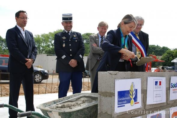 [Bientôt visible sur Google Earth] - La future Gendarmarie de St Martin-en-Campagne Seine Maritime 31565510