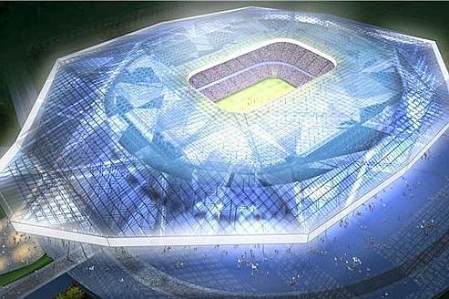 [Désormais visible sur Google Earth] - Stade des Lumières (Décines-Charpieu) 9c7c5e10