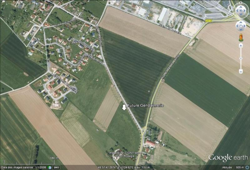 [Bientôt visible sur Google Earth] - La future Gendarmarie de St Martin-en-Campagne Seine Maritime Future10