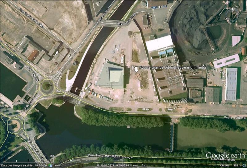 [Désormais visible sur Google Earth] - Grande bibliothèque multimédia de Caen Calvados Grande10