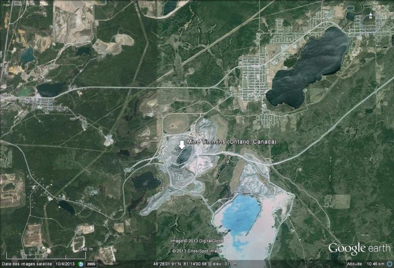 Une poche d'eau datée de 1,5 milliards d'année a été découverte (Mine de Timmins, Ontario - Canada) Mine10