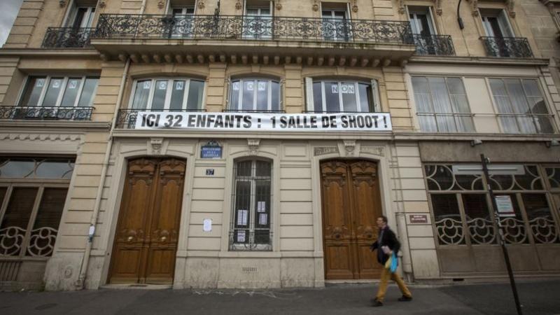 L'inquiétude des habitants et des commerçants pour la future Salle de Shoot 37 Boulvard de la Chapelle Paris 10éme Phof4010