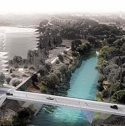 [Enfin visible sur Google Earth] - Montpellier Futur Pont de la République Pont-d10