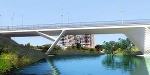 [Enfin visible sur Google Earth] - Montpellier Futur Pont de la République Pont-d11