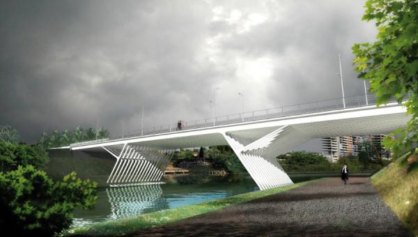 [Enfin visible sur Google Earth] - Montpellier Futur Pont de la République Pont-d12