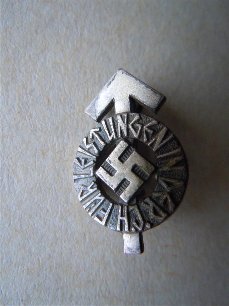 """""""Leistungsabzeichen des HitlerJugend Dscn9718"""