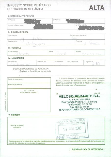 Puch Borrasca II 2ª serie - Dudas Impues10