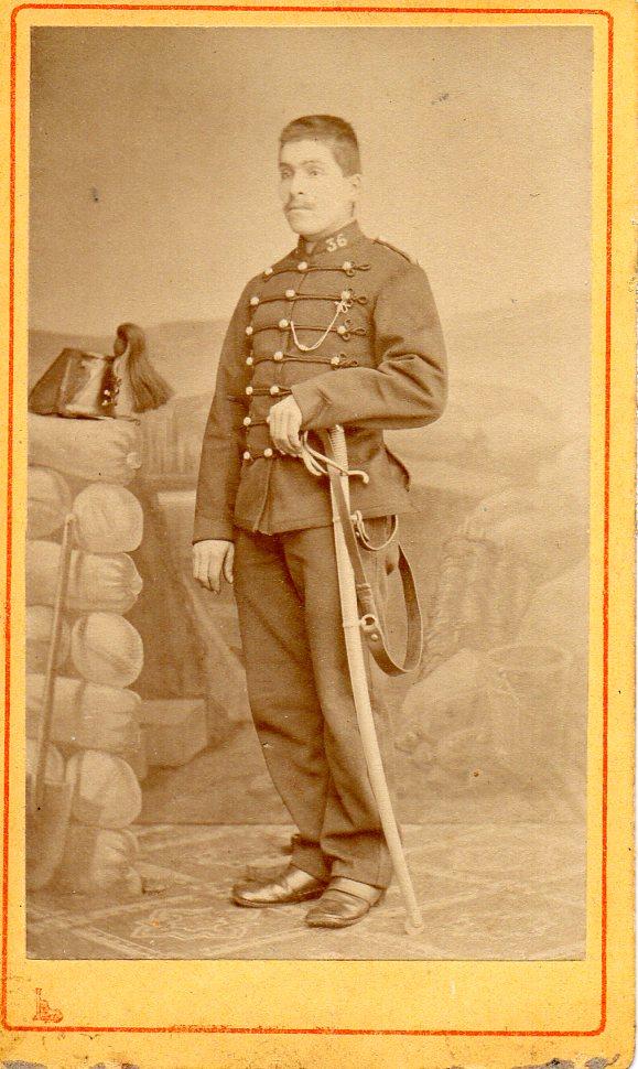 Sabre de cavalerie légère 1816 18161410