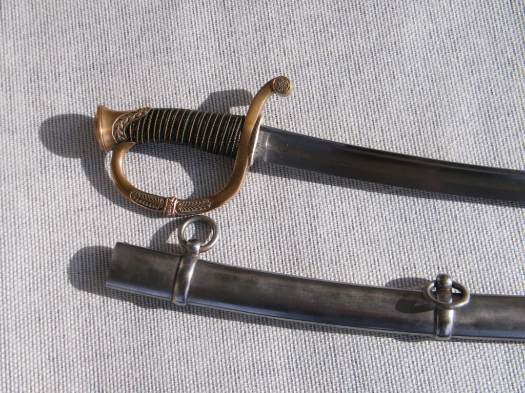 Sabre de canonnier modèle 1829  Officier Dscf5015