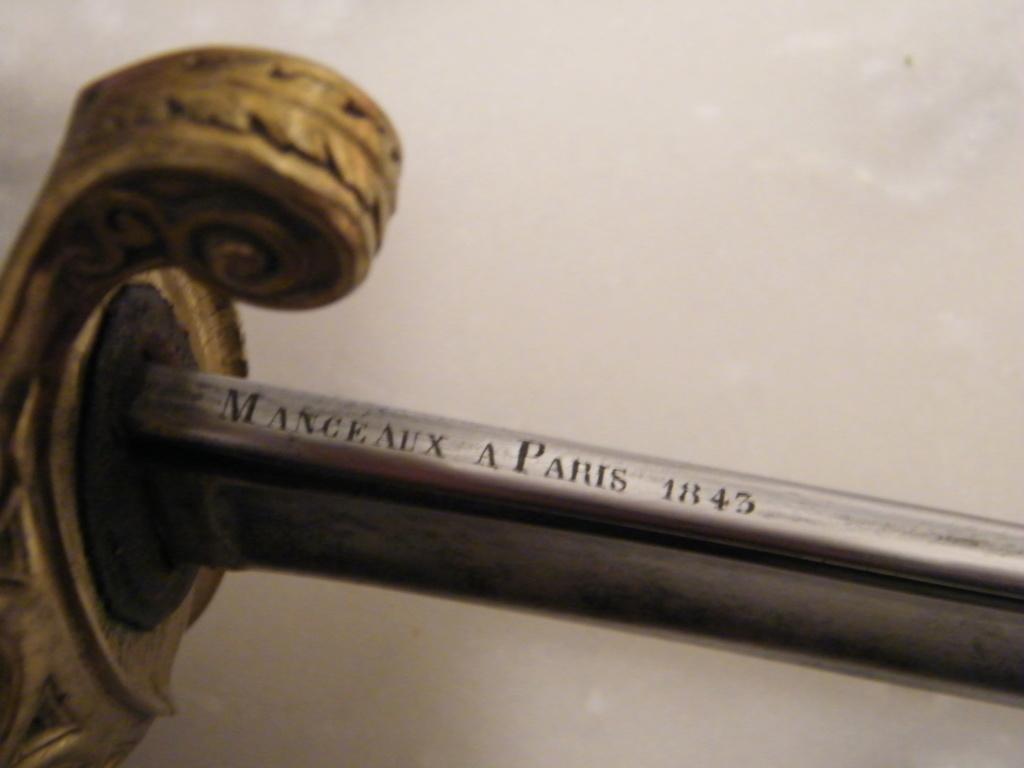 Entre Chasseur de Vincennes et Infanterie 1845 Dscf5212