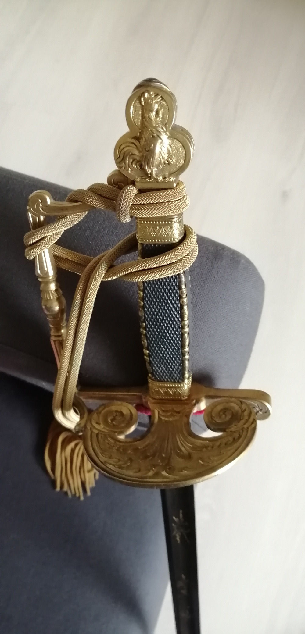 épée glaive de commissaire des guerres  Ecg110