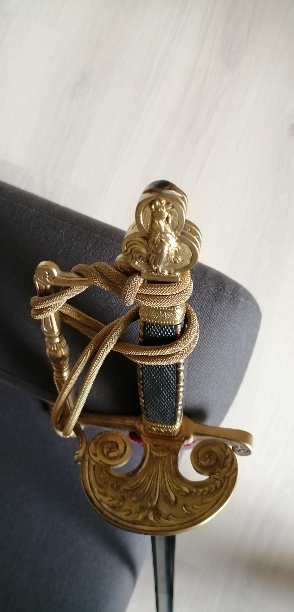 épée glaive de commissaire des guerres  Ecg310