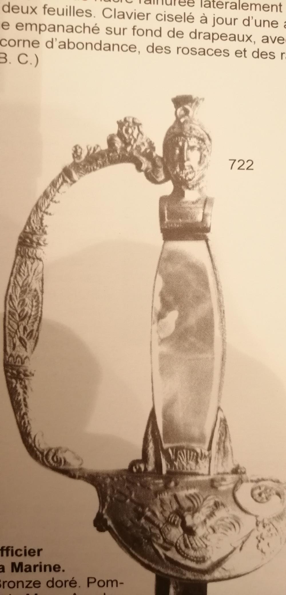 Identification paire de fleurets F710
