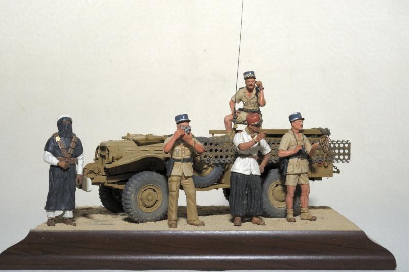 """1960 Gendarmes Français dans le Sahara, près de """"Bidon V""""! _obx5229"""