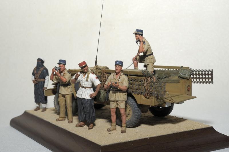 """1960 Gendarmes Français dans le Sahara, près de """"Bidon V""""! _obx5230"""