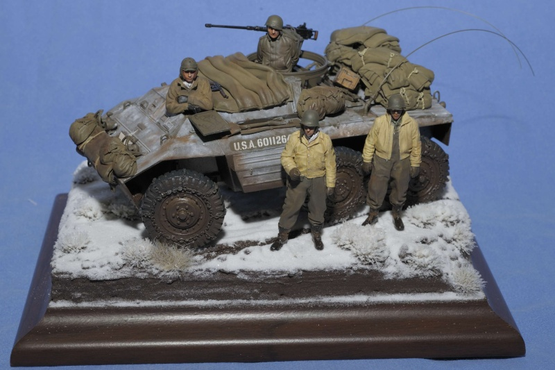 Automitrailleuse M20 Hiver 1944/45 TAMIYA 1/35 M20_0010