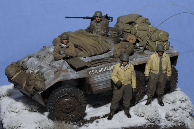 Automitrailleuse M20 Hiver 1944/45 TAMIYA 1/35 M20_0011