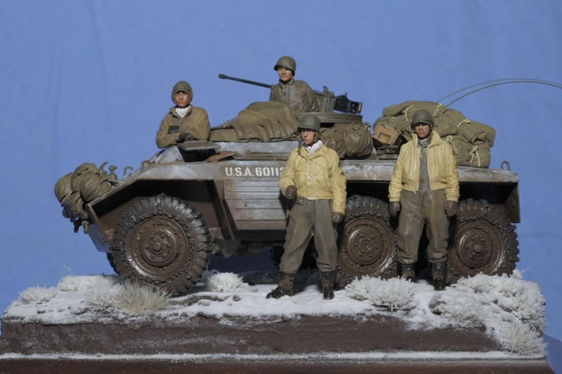 Automitrailleuse M20 Hiver 1944/45 TAMIYA 1/35 M20_0018