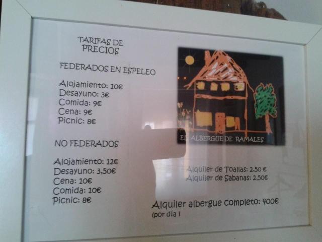 El albergue de Ramales hace precios especiales a los federados de espeleología 10402610