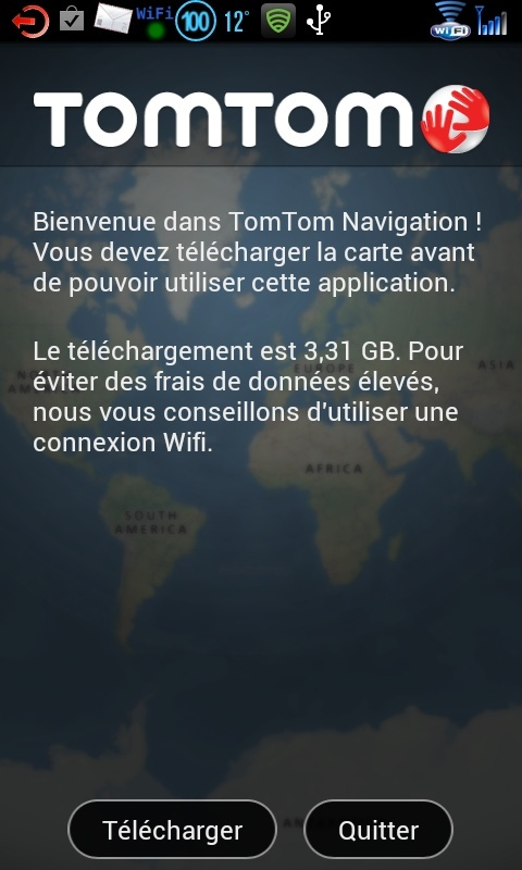 Tomtom et android  2012-110