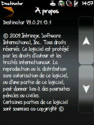 Destinator 9 (logiciel payant) Screen18