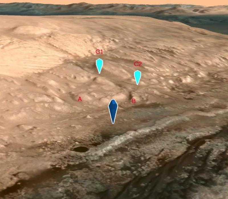 [Curiosity/MSL] L'exploration du Cratère Gale (1/2) - Page 21 Screen25